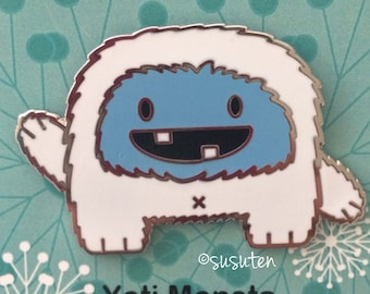 Yeti Monsta enamel pin