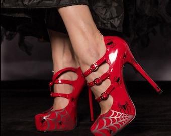 SpiderGirl heels