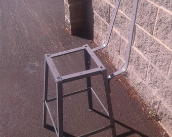 Steel Metal Bar Stool Frame - Table, Counter, or Bar height