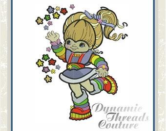 XD000175 Rainbow Girl