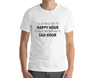 Happy Hour / Sad Hour - Social Anxiety T-Shirt