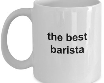 Best barista coffee mug