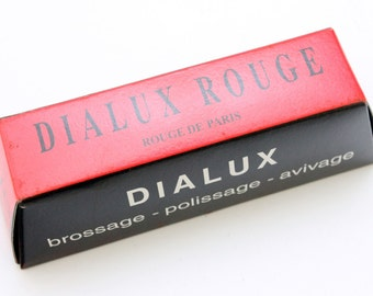 Red Rouge Dialux Polishing Compound Polish Gold & Silver Jewelry Metals.Made in France WA 417-005