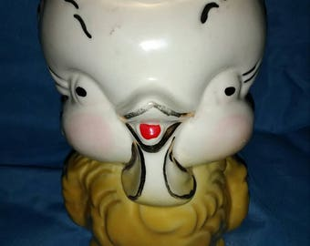 Chick American Bisque Pottery Jug