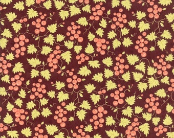 Hazel and Plum - Berries in Plum: sku 20297-15 cotton quilting fabric by Fig Tree and Co. for Moda Fabrics