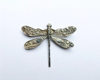Paisley Dragonfly Brooch