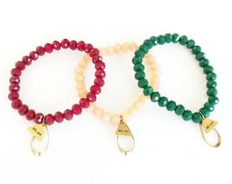 Brecken Bracelet || Choose Color