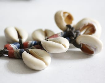Cowry Shell Necklace, shell necklace, caribbean sea shell necklace