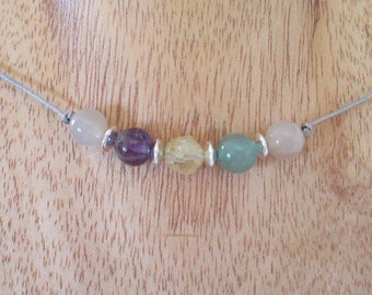 New Beginnings Gemstone Necklace