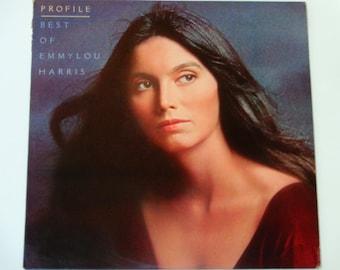 "Best of Emmylou Harris - Profile - Country - ""Sweet Dreams"" ""Making Believe"" - Warner Brothers Records 1978 - Vintage Vinyl LP Record Album"