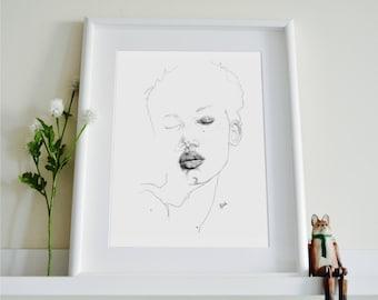 Lineisy Montero Illustration
