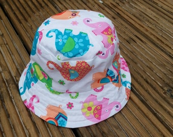 REDUCED Reversible toddlers sunhat