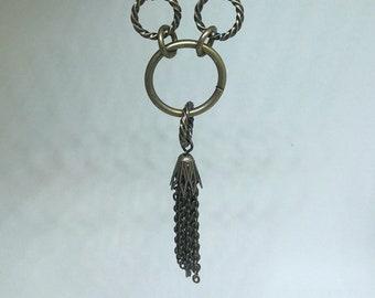 Copper Tassel Necklace