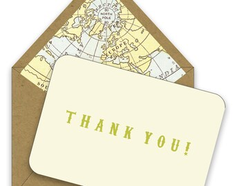 BOX OF 12 Welcome to the World Thank You Notes