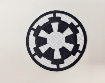 Star Wars Galactic Empire Embroidered Iron on Patch (75mm x 75mm)