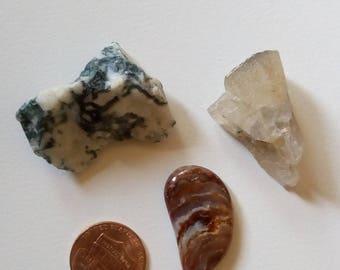 Three stone bag