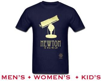 Science Shirt. Isaac Newton Math Shirt. Astronomy T-Shirt, Rock Star Scientist. STEM shirt. Geek Gift. Science Teacher Gift. Astronomer Gift