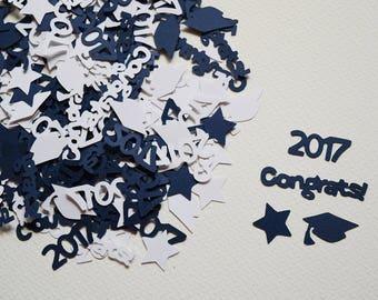 Graduation Confetti - 2018 Graduation Decorations - Graduation Table Scatter - Graduation Themed Decorations - Graduation Party - Hootsie