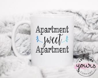 Apartment Sweet Apartment - Apartment Warming Gift - Housewarming Gift - Apartment Sweet Apartment Mug - Gifts For Apartment - Apartment Mug