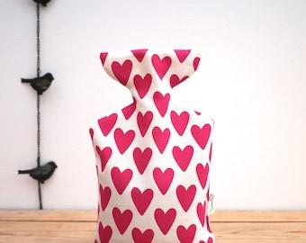 Hot Wheatabottle Heart Print