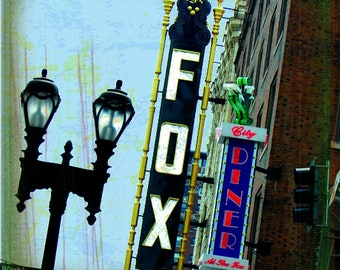 St. Louis Collection: Fox Theatre Sign
