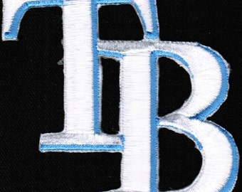 MLB Tampa Bay Rays Cap Major League Baseball Badge Iron On Embroidered Patch