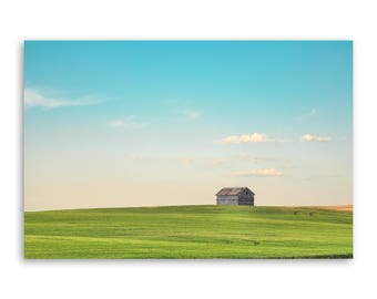 """large canvas wall art, large wall art, large colorful landscape wall art, landscape on canvas, large art on canvas -""""A Country Kind of Life"""""""