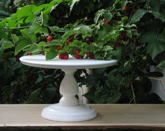 All widths (4-28 inch), FREE Custom height and color, Wedding cake stand, White cake stand, Wedding cake display, Personalize, White, Bridal
