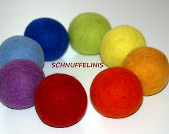 Wool dryer balls, Dryer Balls for Softening Laundry- 100% Natural Laundry Softener, Eco, Eco pure felt wool handmade