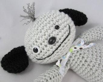 Amigurumi Puppy, Crochet Stuffed Dog, Rag Doll Puppy, Stuffed Animal Dog by CROriginals