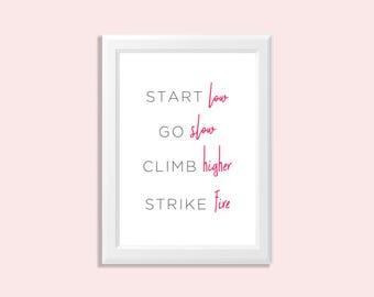 girlboss wall art - girl boss art - inspirational art - girlboss quotes - inspirational boss quote - inspirational girl quote