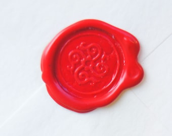 All Natural Sealing Wax Sticks - Set of 4 in Scarlet