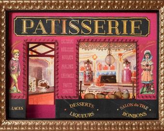 Miniature Parisian bakery storefront
