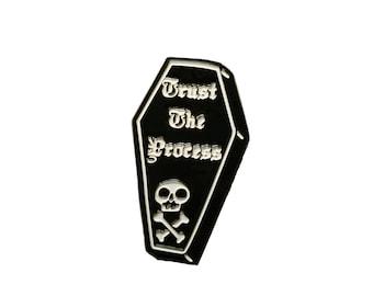 Trust the Process lapel pin