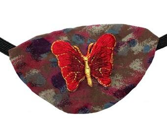 Eye Patch Splendid Butterfly Fashion Fantasy Eyepatch Pirate Steampunk Red