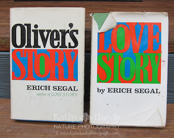 SALE Love Story by Erich Segal Signed Copy | Oliver's Story by Erich Segal | Rare Books | 1970's Signed Book | Signed Love Story Book