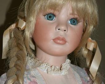 "Porcelain 28"" Doll"