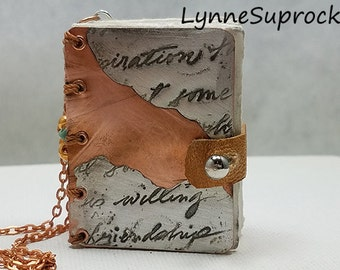 Little Book Necklace 8