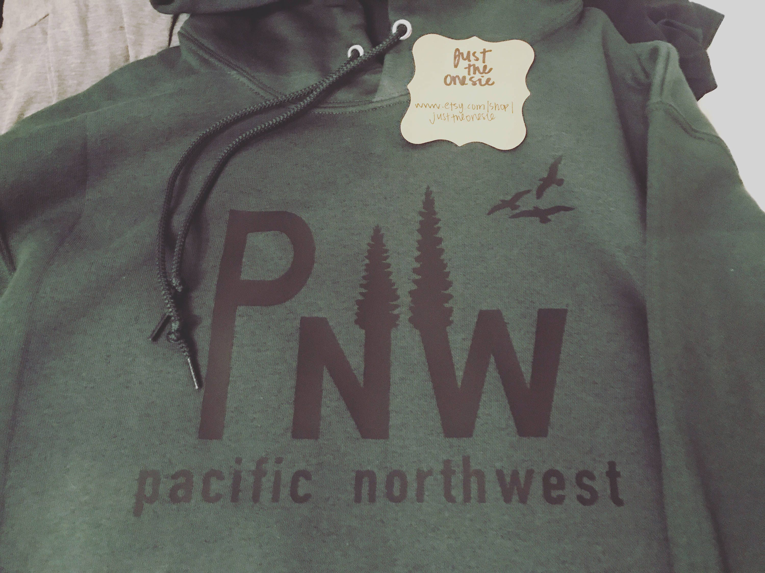 PNW Sweatshirt - Evergreen Tree - Pacific Northwest - PNW Shirt - Oregon Shirt - Washington Shirt - Women's Clothes - Men's Clothes xPjIg7W5j