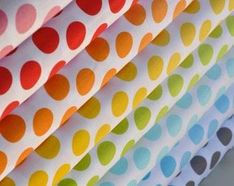 Riley Blake House Designer Ombre Dot Half Yard Bundle of 8