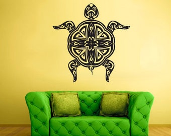 tortoise wall art tortoise wall decor tortoise wall decals tortoise wall sticker (Z459)