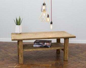 SKIO - Handmade Reclaimed Wood Coffee Table. Custom Made To Order.