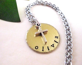 Cross Jewelry, Religious Jewelry, Cross Necklace, Christian Jewelry, 1st Communion Jewelry, Christian Keychain, Confirmation Gift, Christian