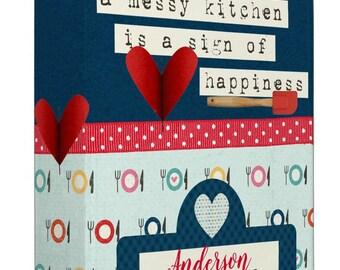 Messy Kitchen Recipe Binder