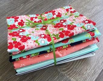 Fat Quarter Bundle (10) The Good Life by Bonnie & Camille Moda Fabrics