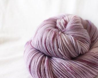 Sugar Plum Fairy - Gosling - 80/10/10 superwash merino/ cashmere/ nylon sock yarn