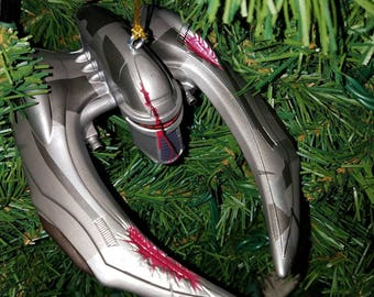 Battlestar Galactica Christmas Ornament Cylon Raider