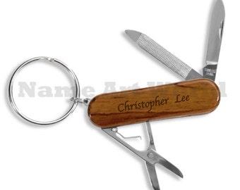 Key Ring Pocket Tool - Promotional price item - FREE personalize.