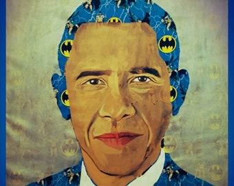 Barack Obama Barack Obatman 35X34
