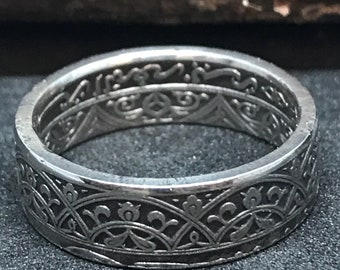 Coin Ring Morocco size 56